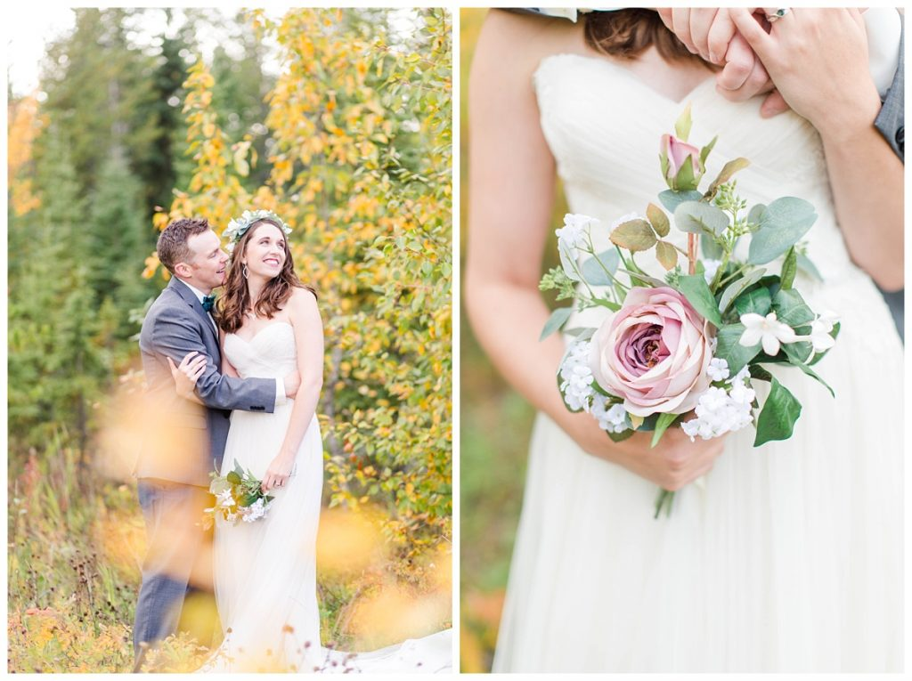 dunvegan gardens flowers for weddings and beautiful fall colors for couple photos of taylor and kevin