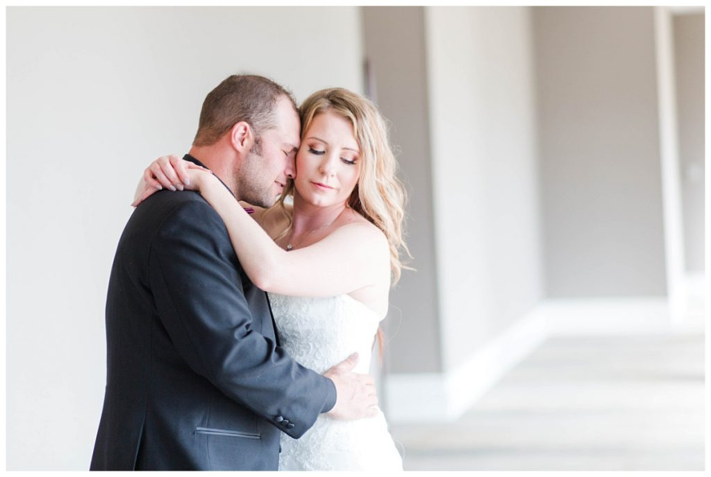 bride and groom romantic serious photo at the pomeroy hotel very light and airy photography