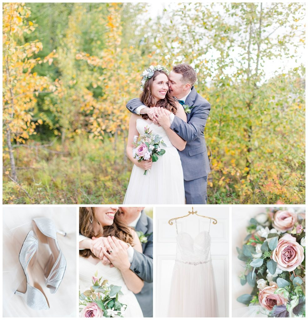 kayla lynn photography grande prairie wedding photographer for kevin and taylors wedding day at clarkson hall fall