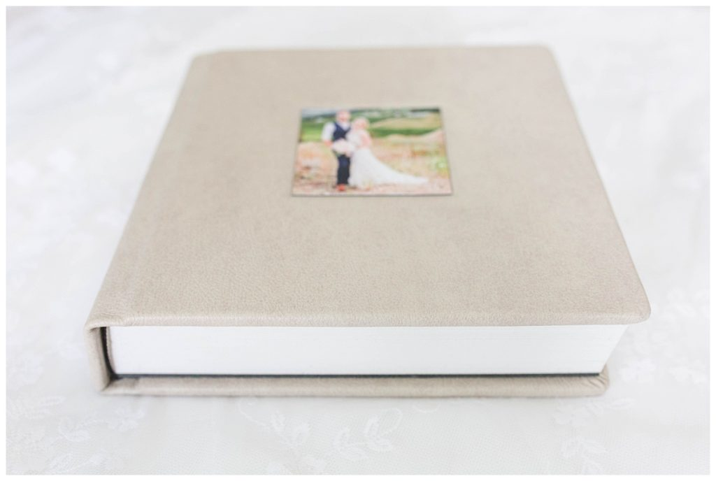 thick genuine leather wedding photo album made by kayla lynn photography is beautiful and a special keepsake