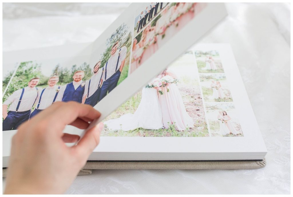 flipping through kayla lynn photography photo album thick pages and smooth mat pages
