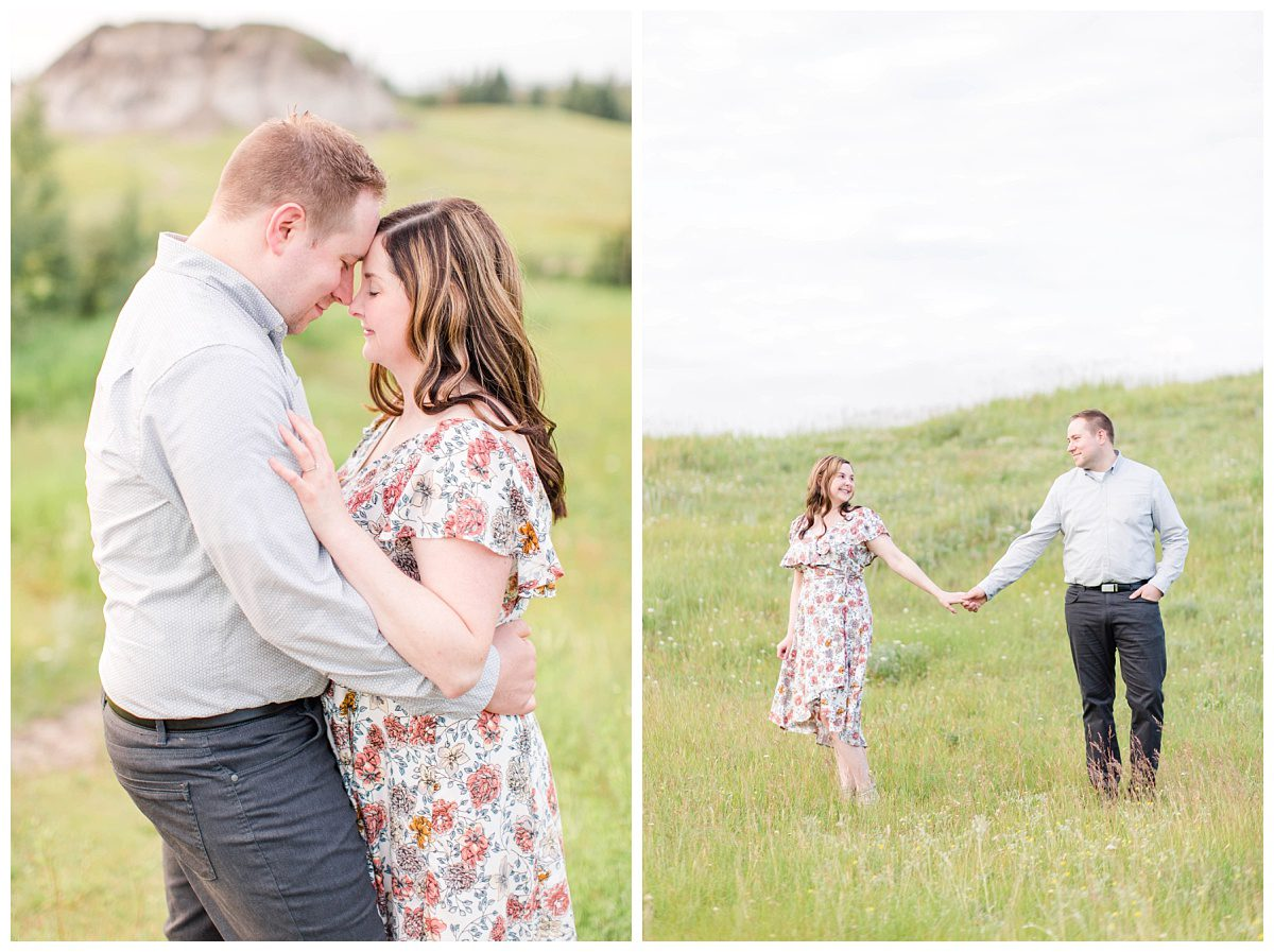 klesku hills couple for their engagement photos
