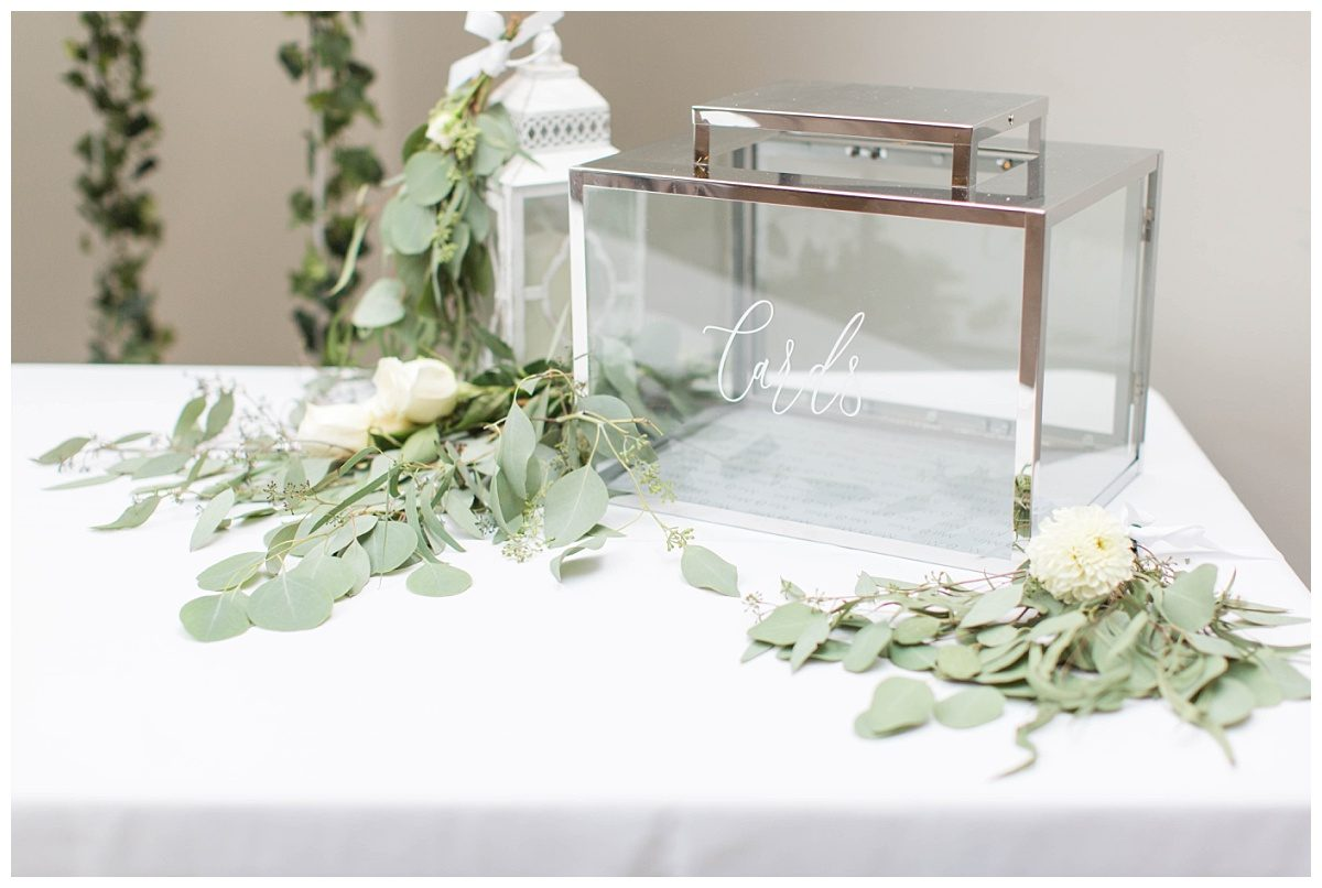 clar elegant card box wedding details for gift table design and planned by changing dreams to reality white light and airy decor