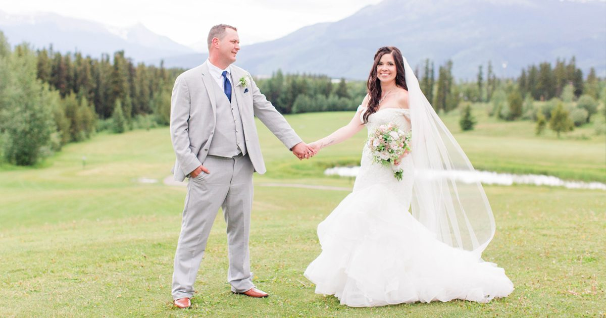 grande cache wedding at the golf country club with amanda and corwin beautiful light airy photography