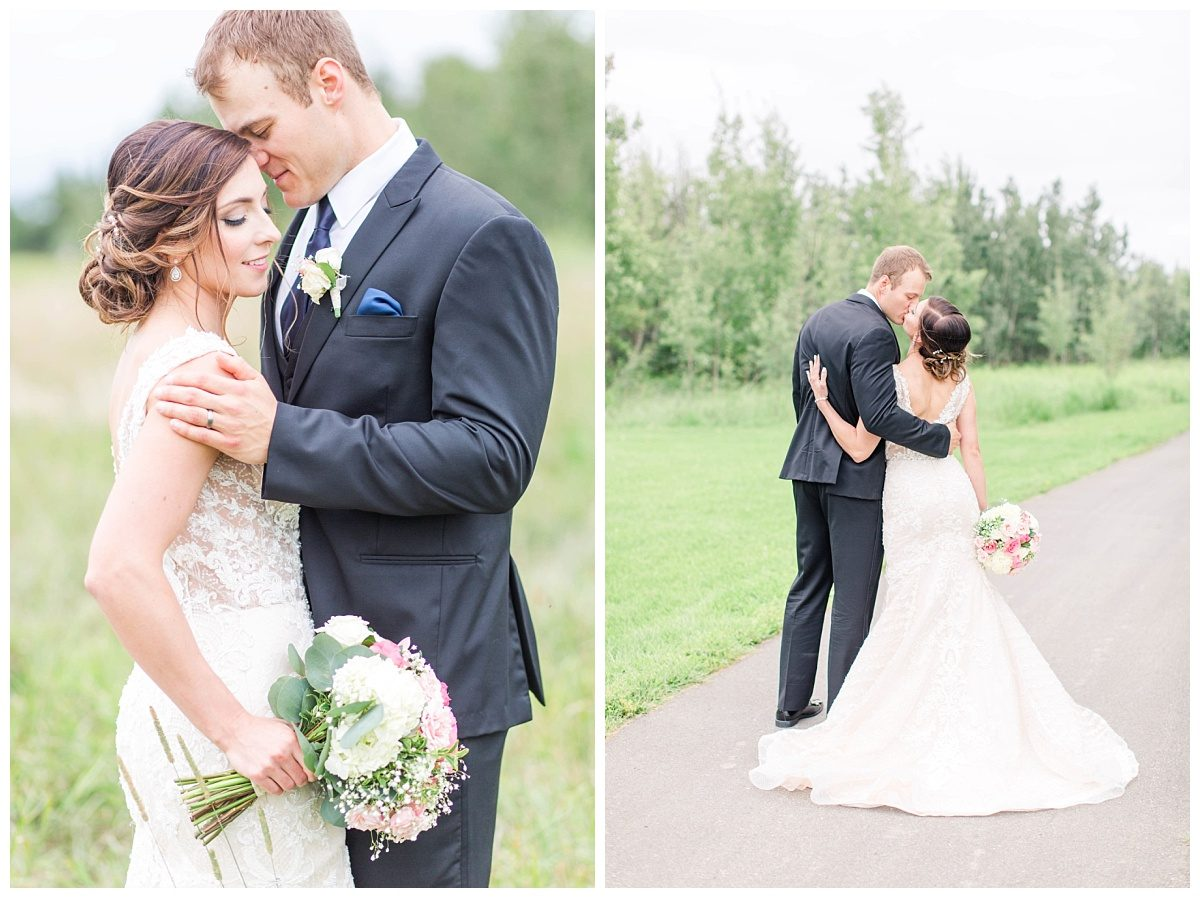 grande prairie wedding photographer for makeup by lina wedding with chris very romantic