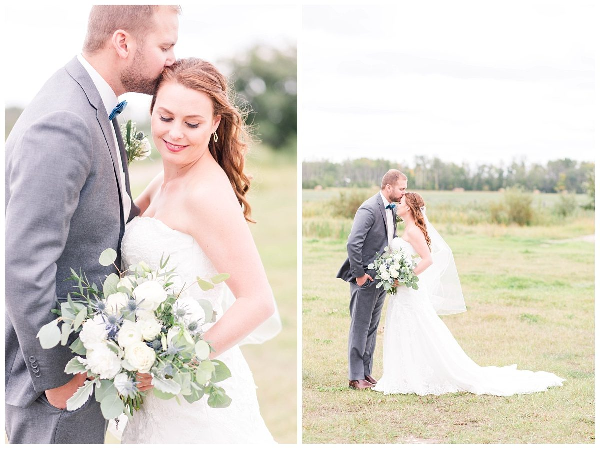 grande prairie wedding photogrpaher with steven and gina wedding day at tp creek venue