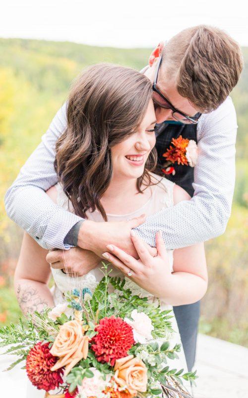 Jesse & Brieanna | Grande Prairie Elopement Photographer | Kayla Lynn Photography