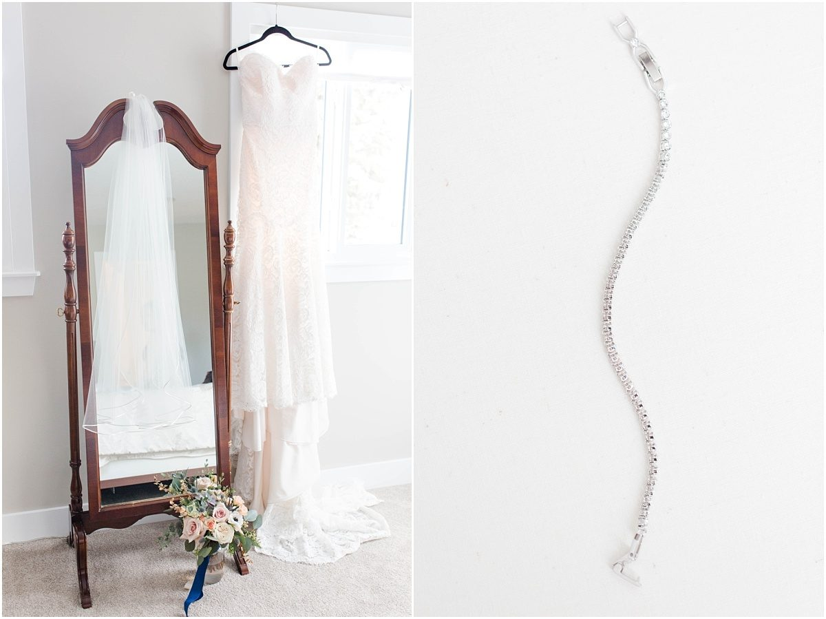 breanna fall wedding details dress and bracelet