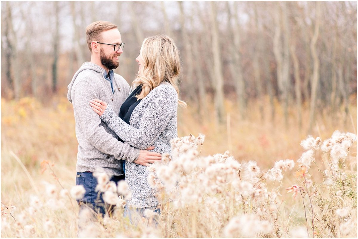 light and airy fall photos in october with calvin and kelsey so soft and dreamy and cozy