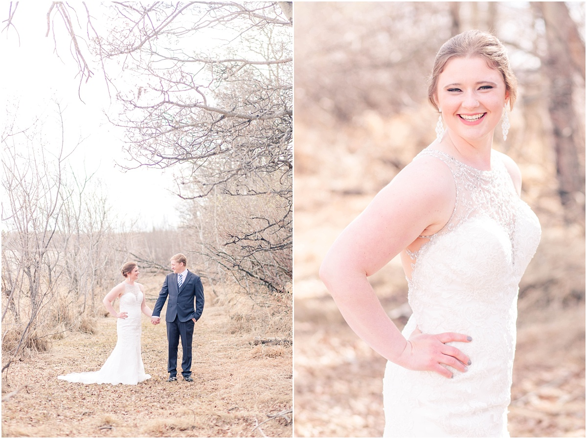 wanhum wedding portraits in 2020 in the spring with light trees