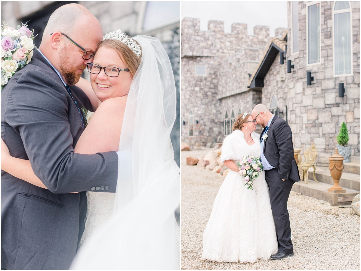 wedding photos at ryans castle bnb edmonton with holly and scott for their covid 19 small wedding alberta