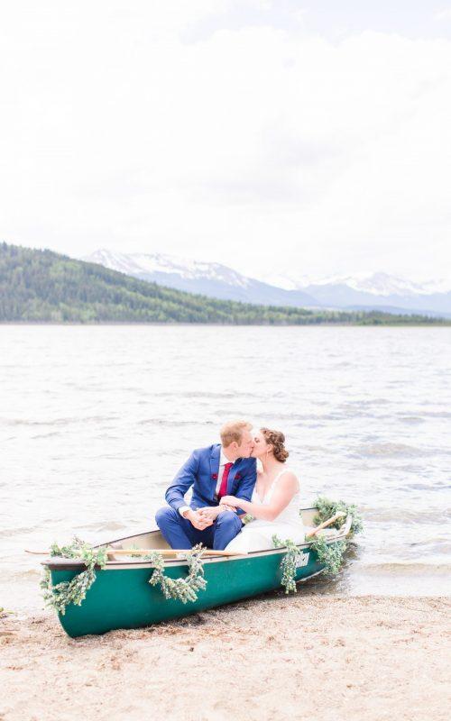 Danial & Shelbee | Grande Cache Wedding | Kayla Lynn Photography
