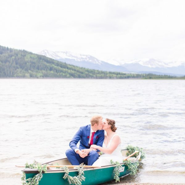 Danial & Shelbee | Grande Cache Wedding | Kayla Lynn Photography