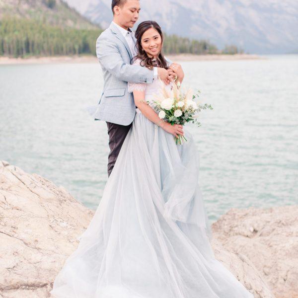 Kim & Jerrica | Alberta Wedding Photographer | Kayla Lynn Photography
