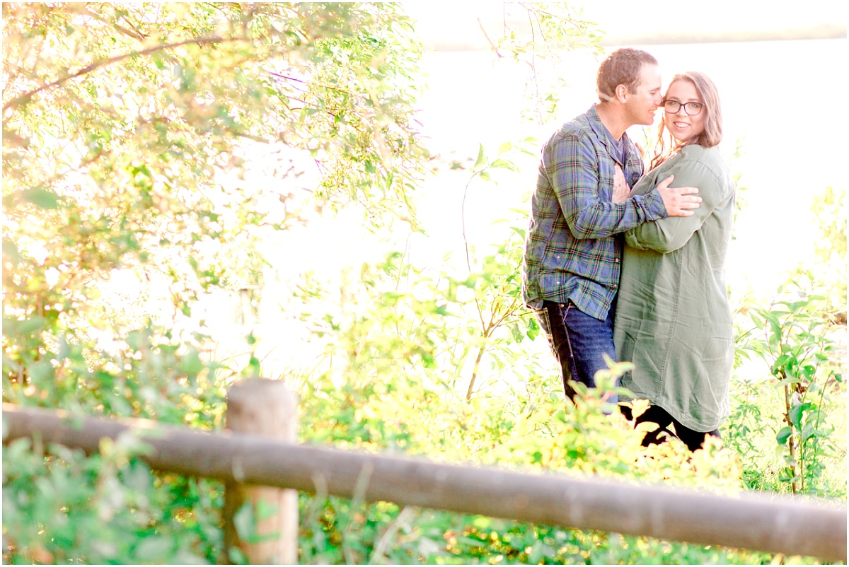 saskatoon lake engagement session with justin and camille near grande prairie with alberta wedding photographer