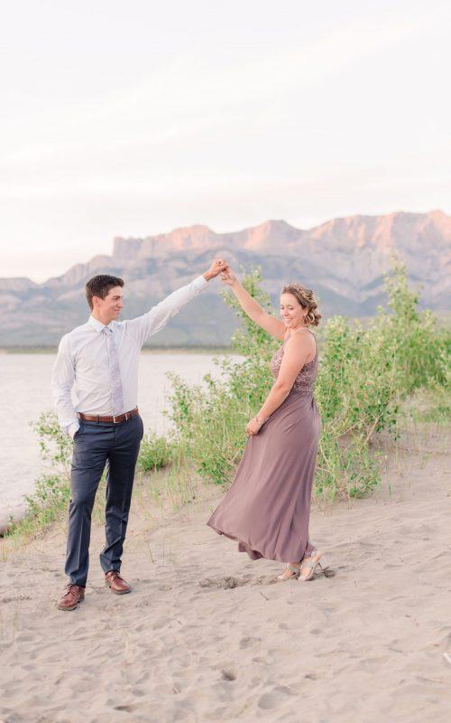 Tayler & Chelsea | Jasper Engagement Photos | Kayla Lynn Photography