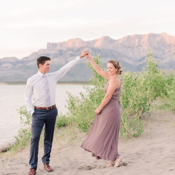Tayler & Chelsea | Jasper Engagement Photos | Kayla Lynn Photography