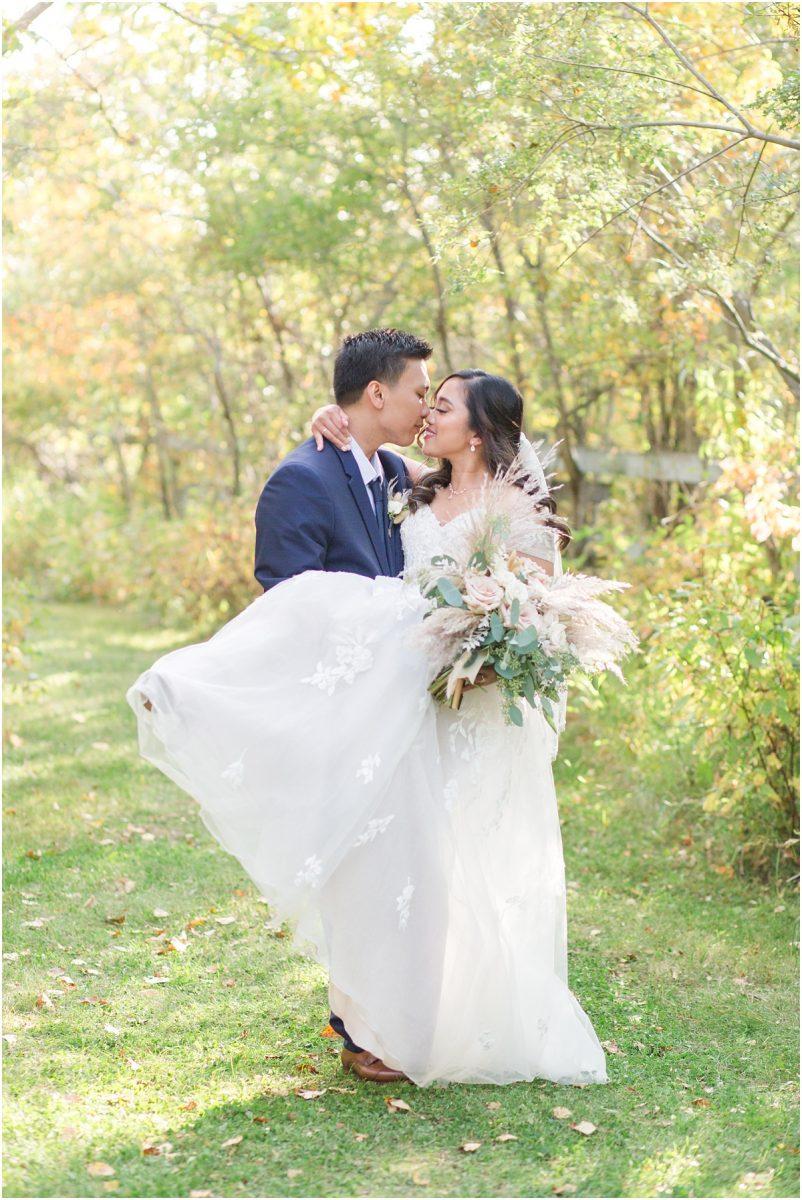 david's bridal dress pick up wedding couple light and airy albeta photographer