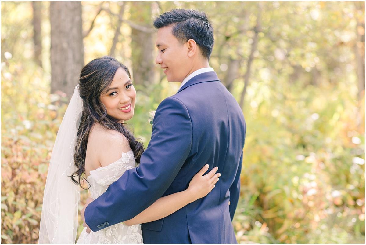 philipino grande prairie wedding photographer with kim and jerrica small wedding