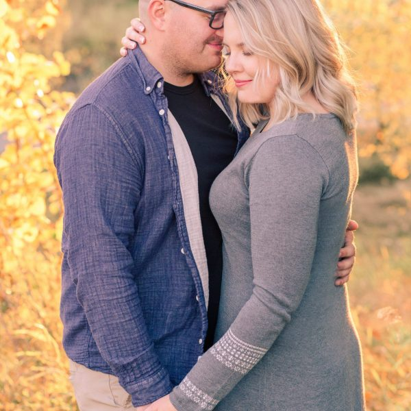 Brandon & Cassidy | Sunflower Engagement Session | Kayla Lynn Photography
