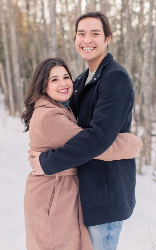 Darrion & Emma | Dreamy Winter Engagement Session