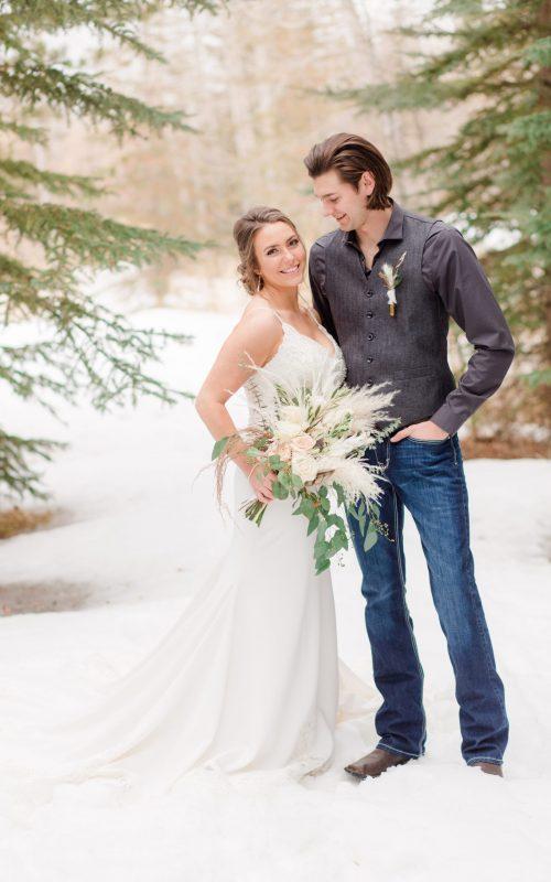 Reid & Brhianna   An Elegant Boho Micro-Wedding