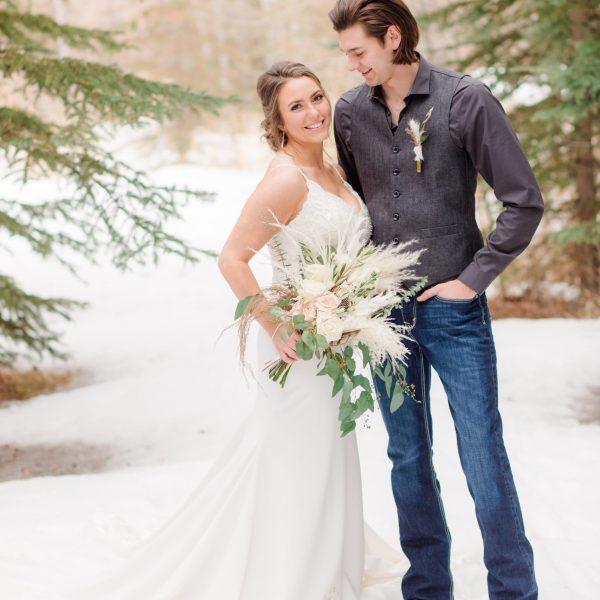 Reid & Brhianna | An Elegant Boho Micro-Wedding