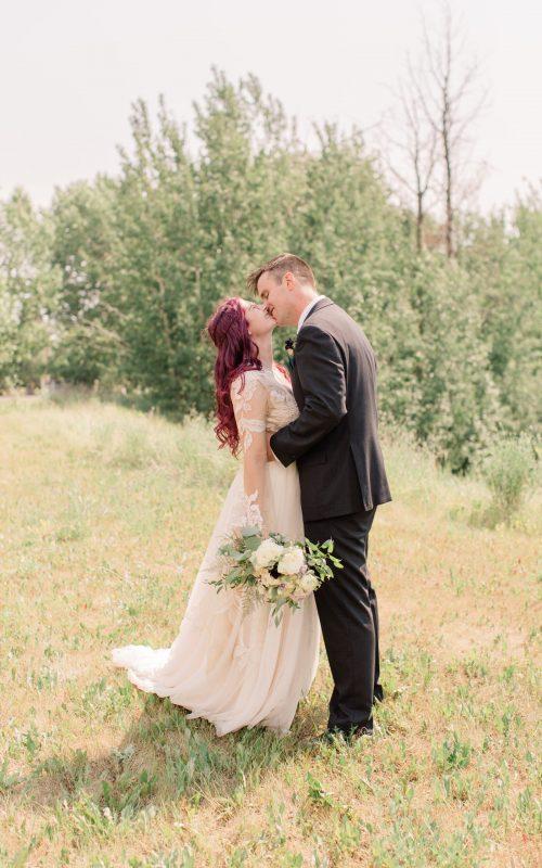 Spencer & Casey   Purple & Green Forest Wedding   Kayla Lynn Photography