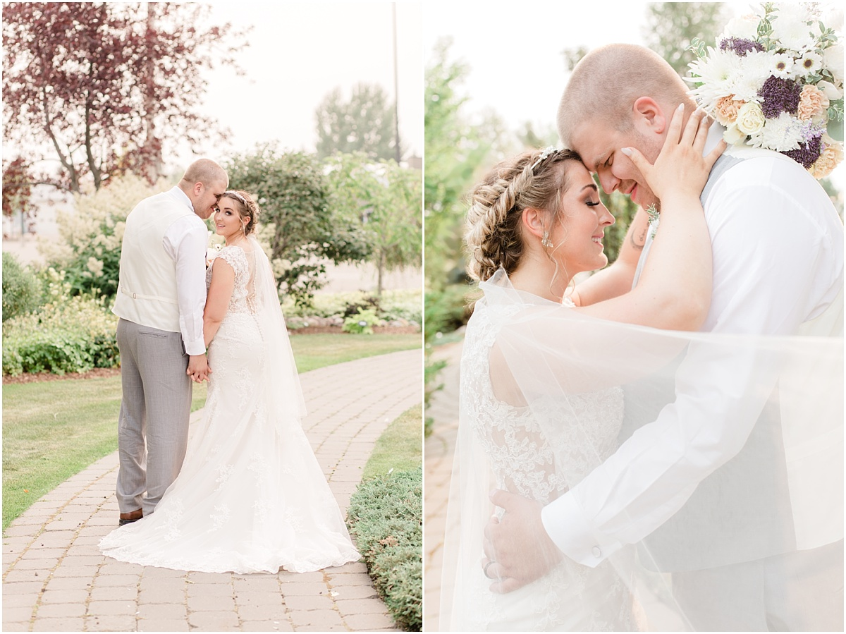 sheerwood park edmonton wedding photos at the gaden center very light and airy photo style timeless