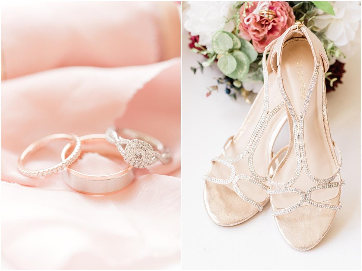 jasper park lode wedding details blush and burgundy colors with fancy le chateau wedding heals
