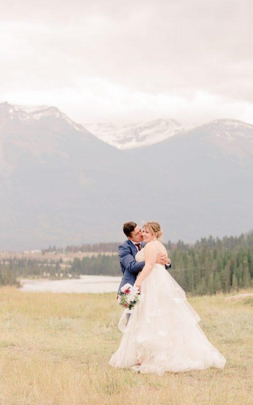 Dreamy Fairmont Jasper Park Lodge Micro-Wedding